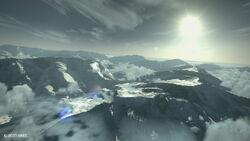 Selumna Peaks Aerial Shot