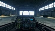 AC7 F-22A Cockpit Hangar
