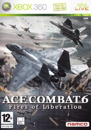 Ace Combat 6 Box Art PAL