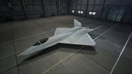 YF-23 AC7 Color 4 Hangar
