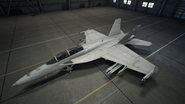 FA-18F AC7 Color 1 Hangar