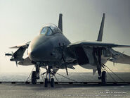 ISAF F-14A Tomcat Carrier Deck