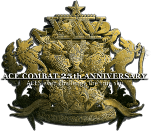 Ace Combat 25th Anniversary Logo