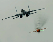 Hostile Su-35S with Missile