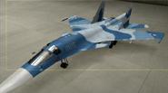 Su-34 Knight color hangar