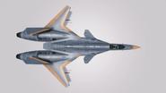 ADFX-01 -Block1- Event Skin 01 Hangar Top