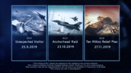 Season Pass Mission Release Dates
