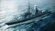 Cassard-class frigate (AC6)