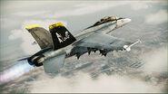 FA-18F JOLLY ROGERS