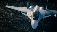 AC7 Su-30SM Sea Flyby