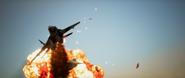 AC7 X-02 Explosion