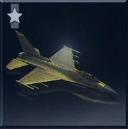 F-16C -Gold Falcon-