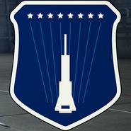 AC7 Shooting Star Squadron Emblem Hangar