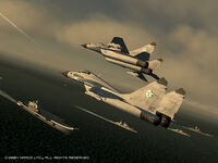 Ace Combat 5: The Unsung War/任務一覽