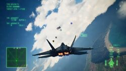 AC7 F-22A Battle Royal Clouds