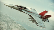 "FA-18F ""Red Devils"" Flyby 3"