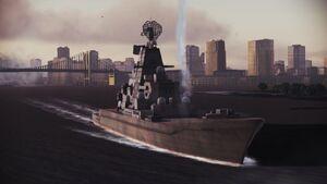 USEA battle cruiser