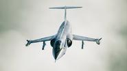 F-104C Osea Skin Flyby2