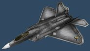 F-22A PMC (Gunmetal Body)