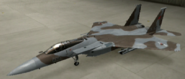 F-15C Mercenary color hangar