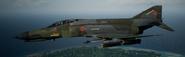 F-4E Erusea Flyby
