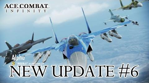 Ace Combat Infinity - Update 6 Trailer (English)