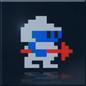 DIG DUG 01 Infinity Emblem