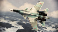 ACAH Su-37 Color 2 Flyby 4