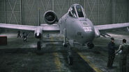 A-10A in Hangar