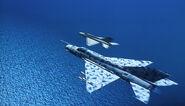 Intercepting a YAF MiG-21