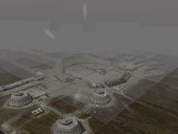 Amber Mountains launch facility in Ace Combat 3