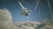 Su-30SM Blue Underbelly