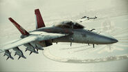 """FA-18F """"Red Devils"""" Flyby 2"""