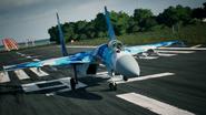 Su-37 Special Skin Takeoff