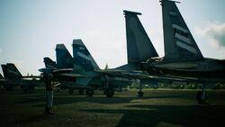 AC7 Spare Squadron Aircraft