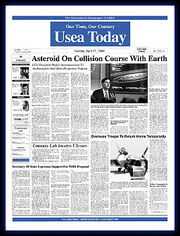 Usea Today - Ulysses Crisis Page