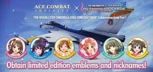 Ace Combat x iDOLMASTER Cinderella Girls banner part 1