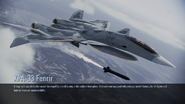 XFA-33 Fenrir loading screen