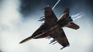 FA-18F Beast flyby 2