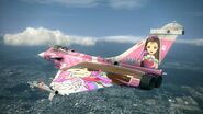 Rafale M -THE IDOLMASTER IORI- Flyby 2