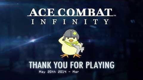 """ACE COMBAT INFINITY - """"Thank You"""" Trailer PS3"""