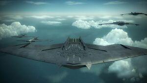 Aerial Fleet Flyby