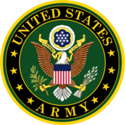Military service mark of the US Army