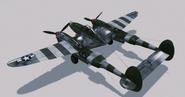P-38L Lightning Hangar