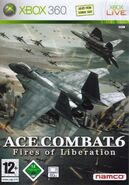 Ace Combat 6 Box Art Germany