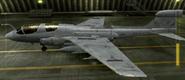 EA-6B Standard color hangar