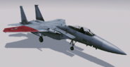 F-15C -Pixy- Hangar