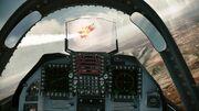 YF-23 cockpit