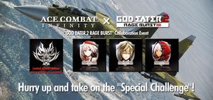 AC Infinity X GOD EATER 2 RAGE BURST Collaboration Event - Banner