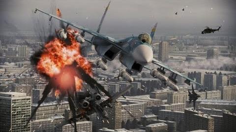 ACE COMBAT ASSAULT HORIZON - PS3 X360 - Online Assault